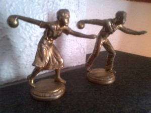 bowling trophy figures