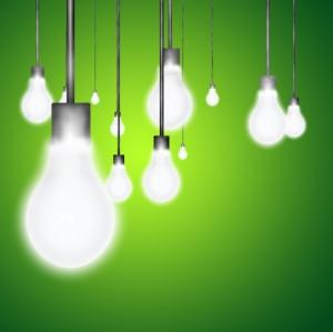ideas lightbulbs