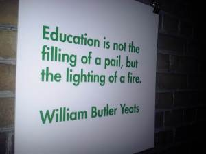 Education is about