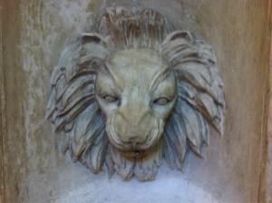 1 lion stonework