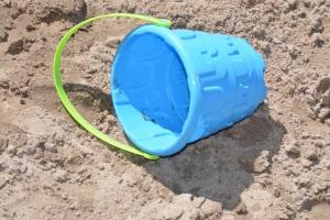 Toy Bucket Blue