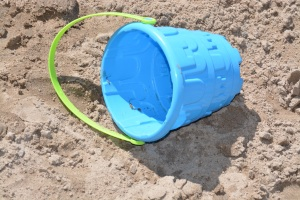 Toy Bucket Blue