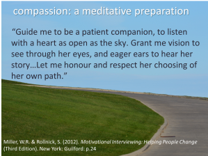 compassion motivational interviewing quote